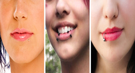 Types of Lip Piercings