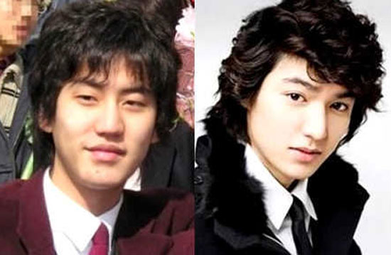 Lee min ho plastic surgery before and after top piercings
