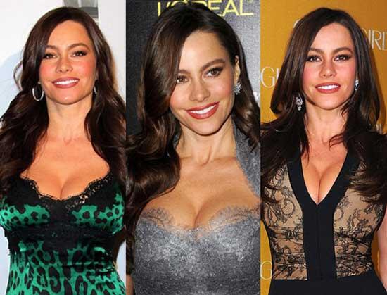 Sofia Vergara Breast Implants or Boob Job