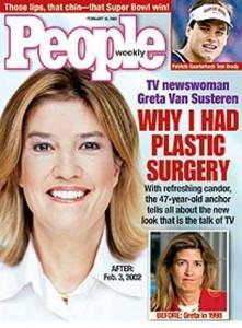 Greta Van Susteren Plastic Surgery Picture