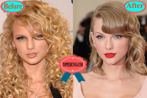 Taylor Swift Plastic Surgery Taylor Swift Before And Now Top Piercings