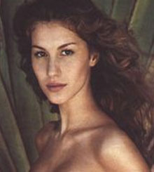 Gisele Bundchen Before Eye Lift