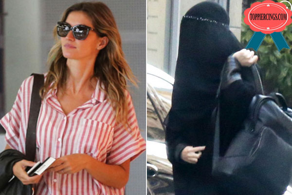 Gisele Plastic Surgery Wearing Burqa