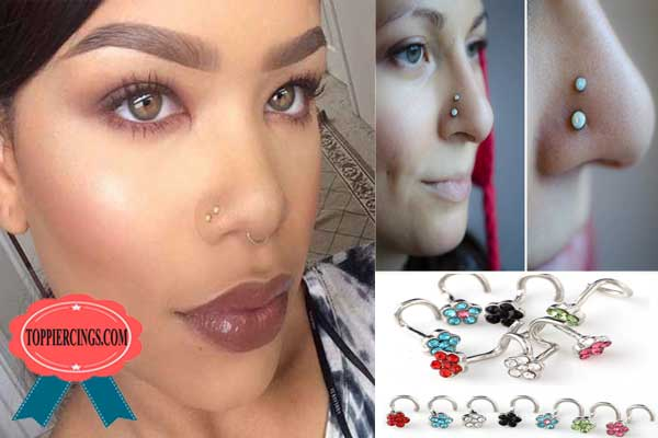 Double Nostril Piercing and Double Nostril Piercing Jewelry