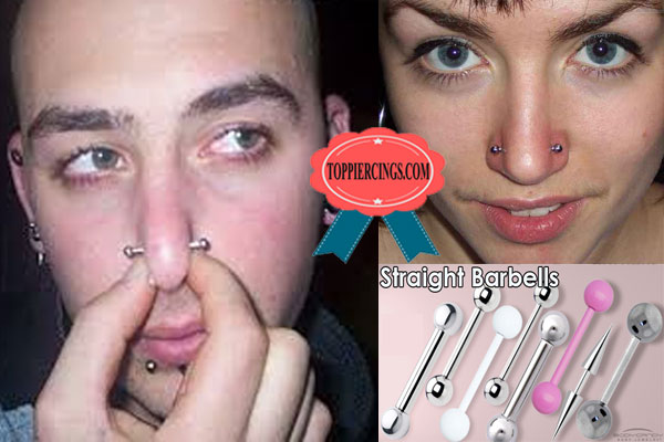 Nose Piercing Types What Kind Of Nose Ring Do They Pierce You With