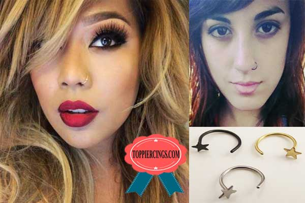 Nostril Piercing Types and Nostril Piercing Jewelry