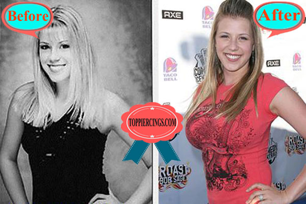 Jodie Sweetin Plastic Surgery Before and After Boob Job