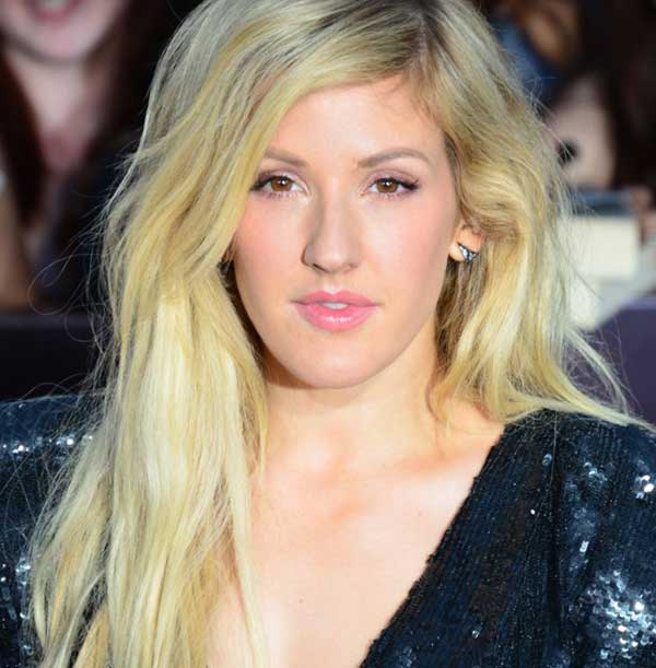 Ellie Goulding With Makeup Photo