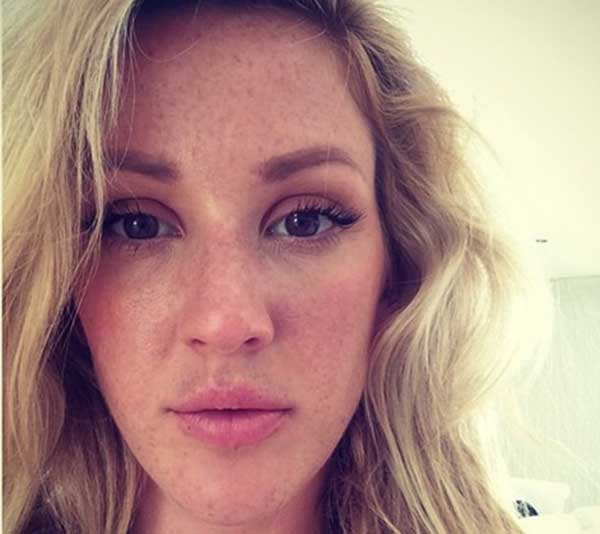 Ellie Goulding Without Makeup Photo
