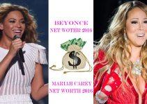 Beyonce Net Worth 2016 Vs Mariah Carey