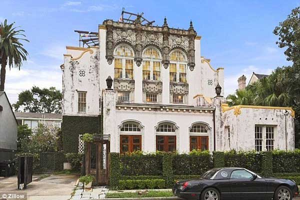 Beyonce House in New Orleans